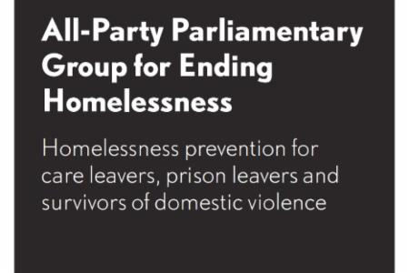 News: UK All-Party Parliamentary Group for Ending Homelessness Publishes Research on Preventing Homelessness