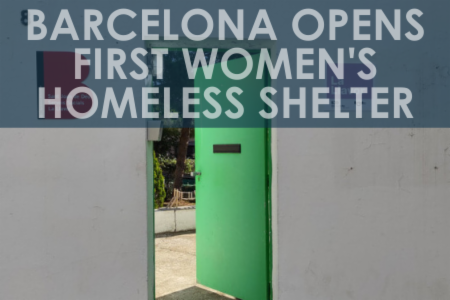 >Barcelona opens first women-only homeless shelter