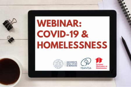 >Webinar - Covid19 and homelessness
