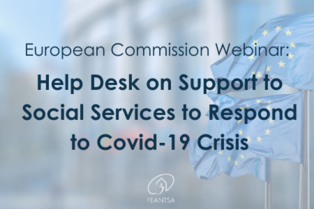 European Commission Webinar: Helpdesk on Support to Social Services to Respond to Covid-19 Crisis