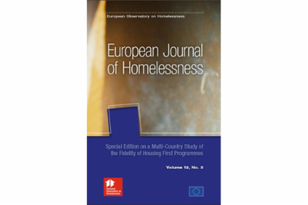 News: European Journal of Homelessness Volume 12 Issue 3 Published