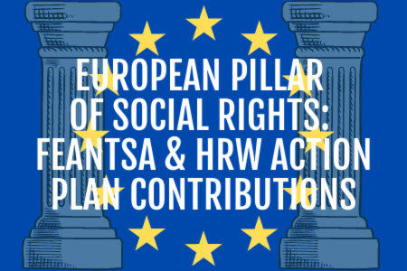 >FEANTSA & HRW European Pillar of Social Rights Action Plan contributions