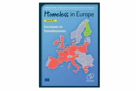 Summer 2017 - Homeless in Europe Magazine: Increases in Homelessness