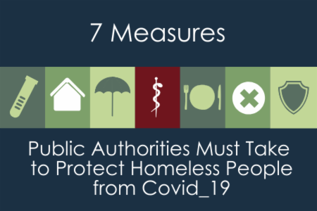 >Seven measures authorities must take to protect homeless people from Covid