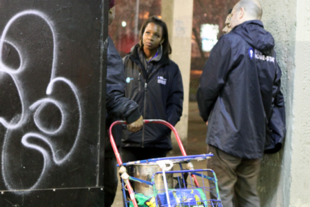 News: Rough sleeping in New York increases by 40%