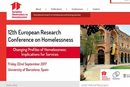News: New European Observatory on Homelessness website launched