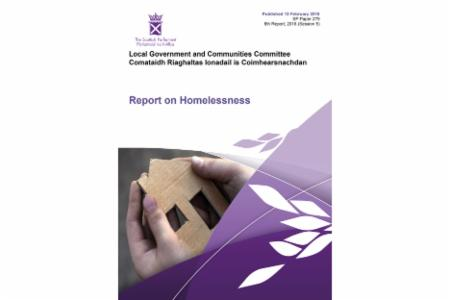 News: Scottish Government Committee recommends Scotland adopts a Housing First plan