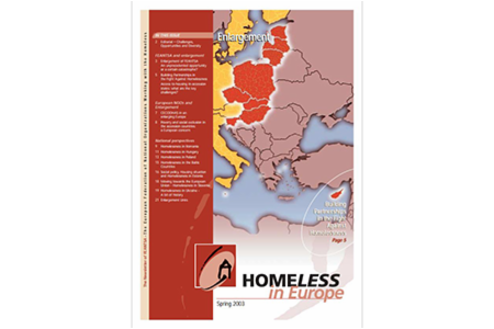 Spring 2003 - Homeless in Europe Magazine: Enlargement