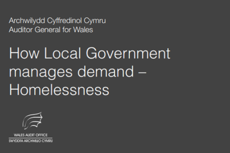>News: Wales Audit Office Evaluates Local Government Responses to Homelessness