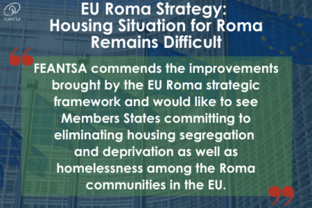 >Statement: EU Roma Strategy