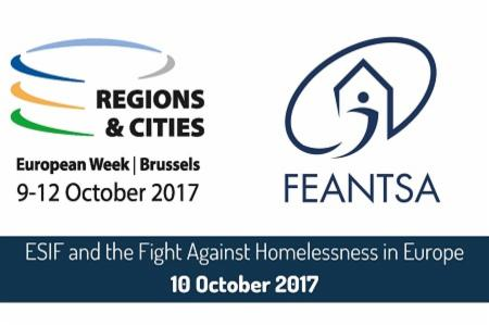 >ESIF and the Fight Against Homelessness - 2017 European Week of Regions & Cities