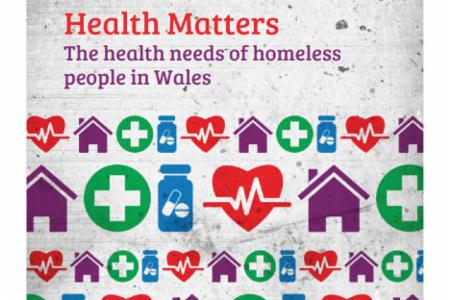 News: Cymorth Cymru Publish Report on Health Needs of Homeless People in Wales