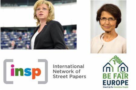 News: A conversation about tackling homelessness with EU Commissioners Corina Cretu and Marianne Thyssen