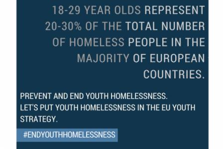 >Press Release: Youth Homeless Organisations Across Europe Call for Action to End Youth Homelessness on Human Rights Day