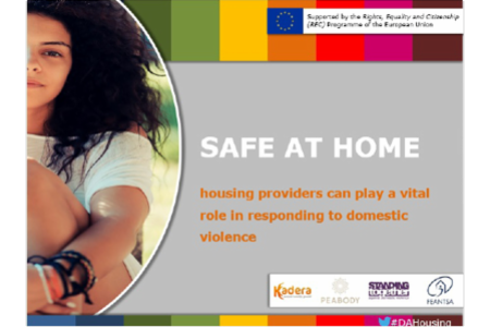 Presentation of recommendations to policy makers and housing providers Round table on the 'Safe at Home' project