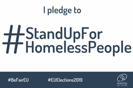MEP candidates, will you #StandUpForHomelessPeople ?