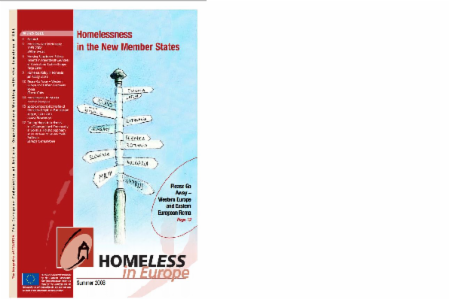 Summer 2008 - Homeless in Europe Magazine: Homelessness in the New Member States