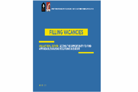 FEANTSA & FAP Report: Filling Vacancies - Real Estate Vacancy in Europe: Local Solutions to a Global Problem