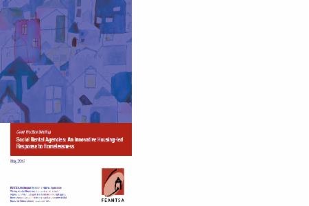 Toolkit: Social Rental Agencies: An Innovative, Housing-Led Response to Homelessness