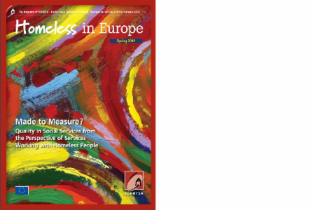 Spring 2012 - Homeless in Europe Magazine: Quality in Social Services