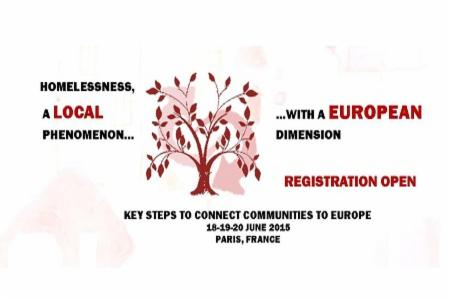 2015 FEANTSA Policy Conference: Key Steps to Connect Communities to Europe