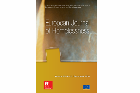 >European Journal of Homelessness: Volume 10, Issue 2 - 2016
