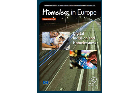 Winter 2016/2017 - Homeless in Europe Magazine: Digital Inclusion and Homeless