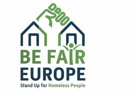>Be Fair, Europe - Stand Up for Homeless People