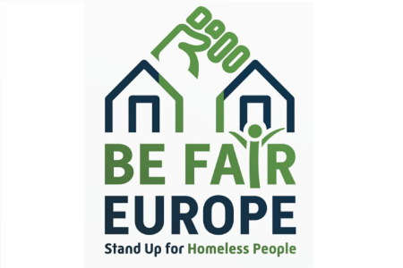 News: Launch of Be Fair, Europe - Stand up for Homeless People! campaign